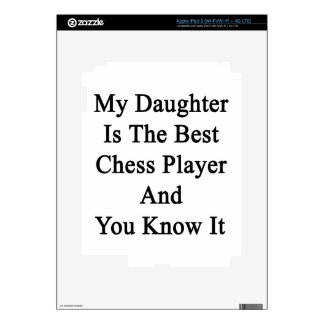 My Daughter Is The Best Chess Player And You Know iPad 3 Skins