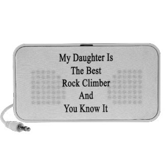 My Daughter Is The Best Rock Climber And You Know iPhone Speaker
