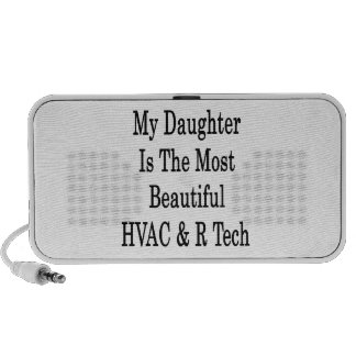 My Daughter Is The Most Beautiful HVAC R Tech Travel Speakers
