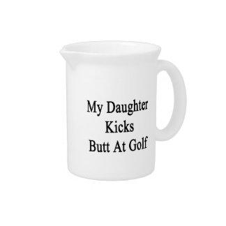 My Daughter Kicks Butt At Golf Pitcher