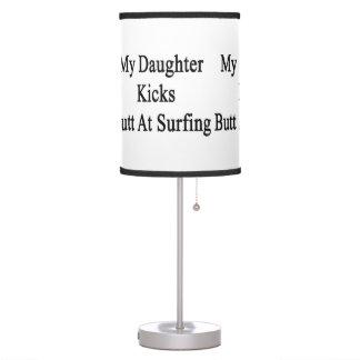 My Daughter Kicks Butt At Surfing Desk Lamp