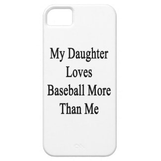 My Daughter Loves Baseball More Than Me iPhone 5 Cover