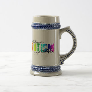 My Daughter My Hero - Autism Beer Stein