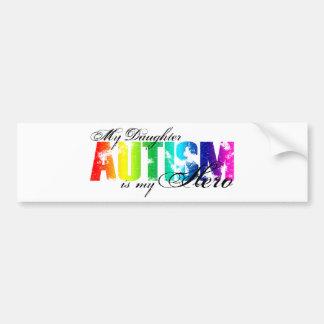My Daughter My Hero - Autism Car Bumper Sticker