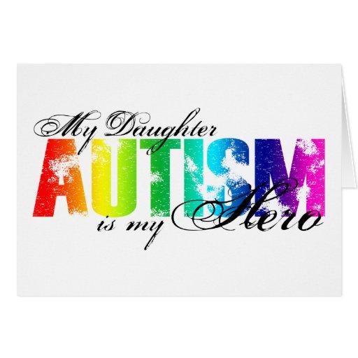 My Daughter My Hero - Autism Cards