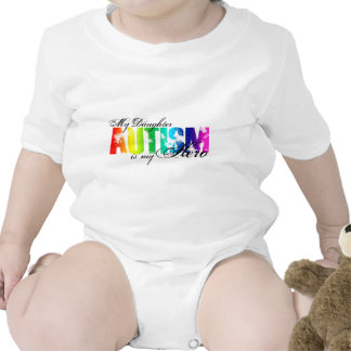 My Daughter My Hero - Autism Bodysuit