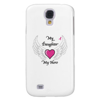 My Daughter My Hero Wings and Heart Galaxy S4 Cover