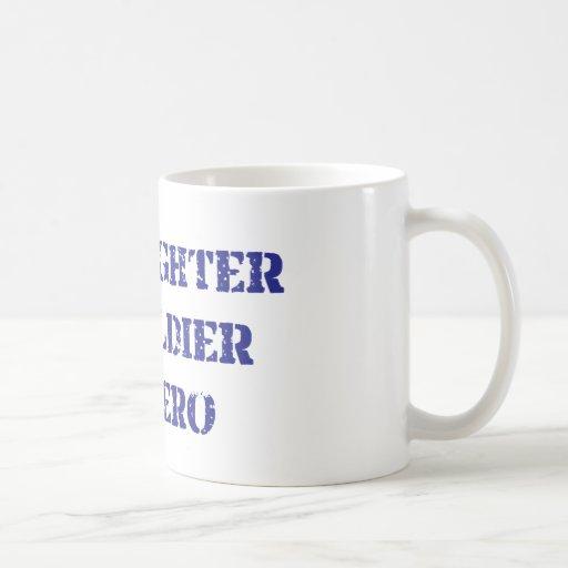 My daughter, my soldier, my hero classic white coffee mug
