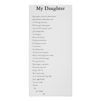 My Daughter Poster