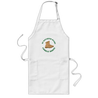 My Daughter Wears Combat Boots - Apron