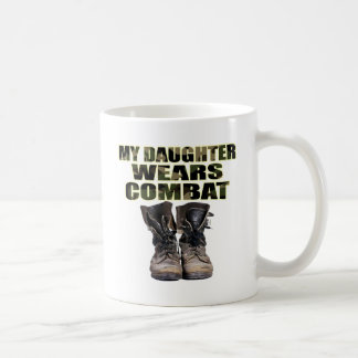 My Daughter Wears Combat Boots Coffee Mug