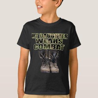 My Daughter Wears Combat Boots T-Shirt