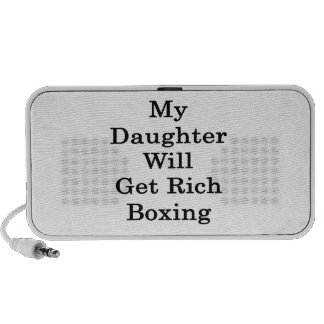 My Daughter Will Get Rich Boxing Mini Speakers