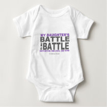 My Daughter's Battle Baby Bodysuit