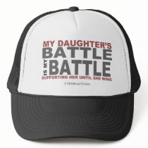 My Daughter's Battle Trucker Hat
