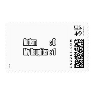 My Daughter's Beating Autism Stamps