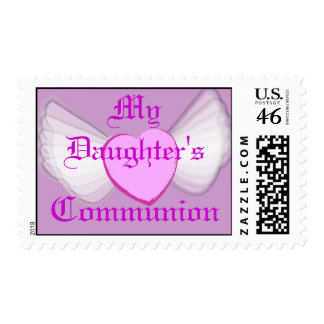 My Daughter's Communion-Customize Postage Stamps