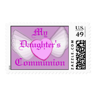 My Daughter's Communion-Customize Stamp