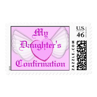 My Daughter's Confirmation-Customize Postage