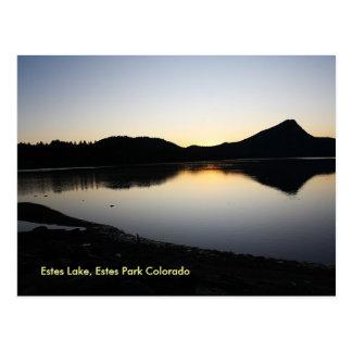 my daughter's sunrise, Estes Lake, Estes Park C... Post Cards