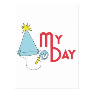 MY DAY BIRTHDAY POSTCARD
