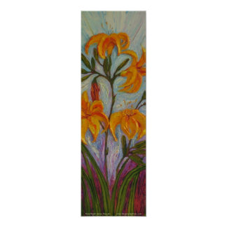 My Day Lilies Fine Art Poster
