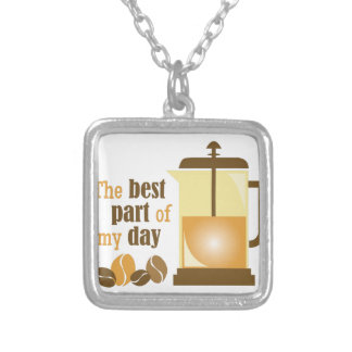 My Day Square Pendant Necklace