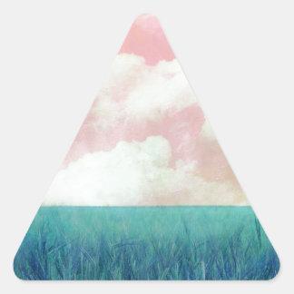My Day Pegatina Triangular