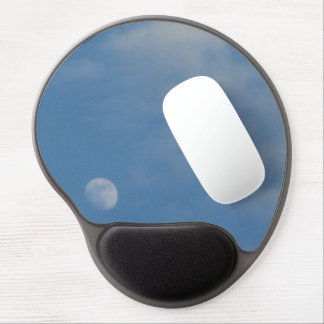 My Daytime Moon - Oval Gel Mousepad Mat
