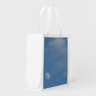 My Daytime Moon - Re Usable Lightweight Polyester Grocery Bag