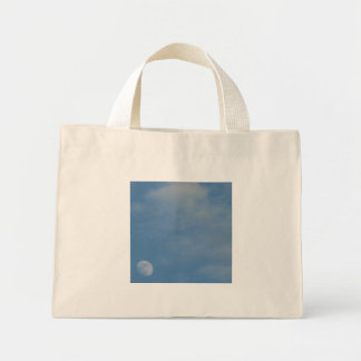 My Daytime Moon - Tiny Tote Bag