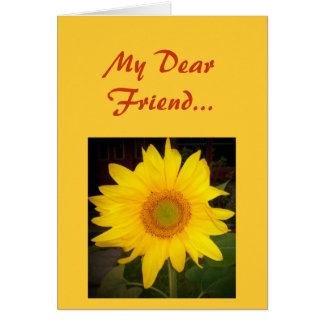 My Dear Friend...Greeting Card