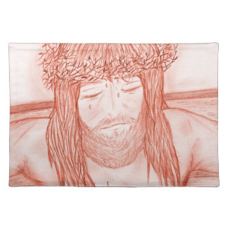 My Dear Lord IV Cloth Placemat