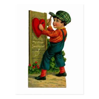My Dear Sweetheart Postcard