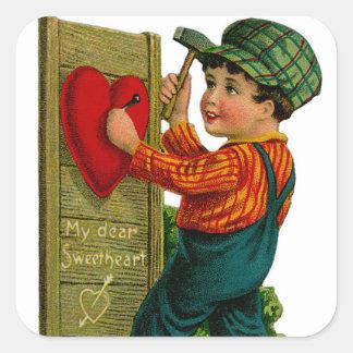 My Dear Sweetheart Square Sticker