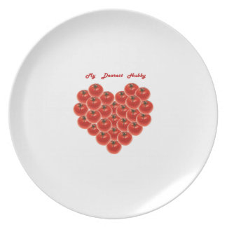 My Dearest Hubby Dinner Plate