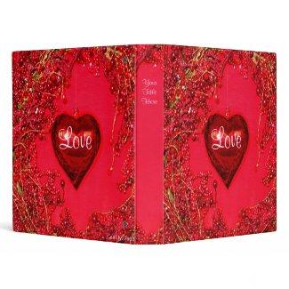 My Dearest Valentine Binder binder