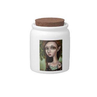 My Deer Lady Candy Jar