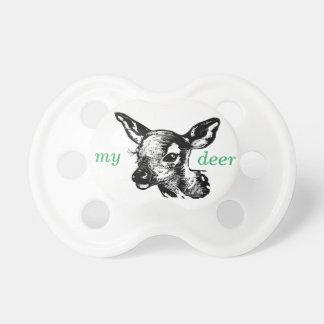 My deer BooginHead pacifier