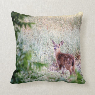 My Deer Throw Pillow