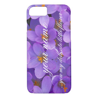 ...my delicate little flower iPhone 8/7 case
