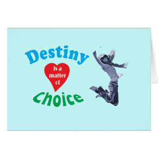 My desiny card