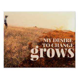 My Desire To Change by Inspirational Downloads Poster