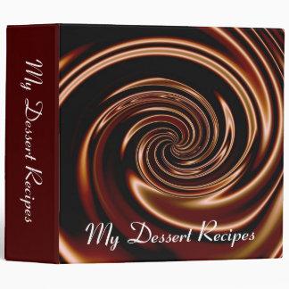 My Dessert Recipes Binder