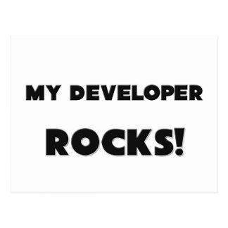 MY Developer ROCKS! Post Card