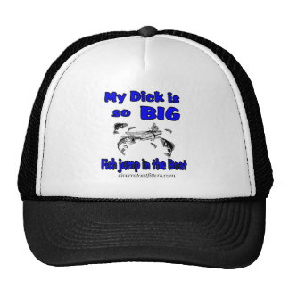 my dick trucker hat