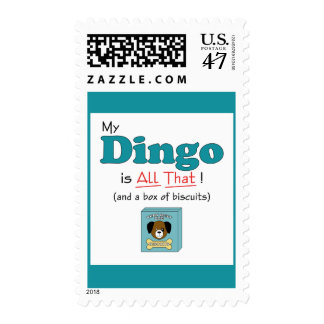 My Dingo is All That! Postage