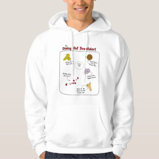 My Dining Out Basic Hooded Sweatshirt