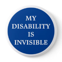 My Disability is Invisible Button