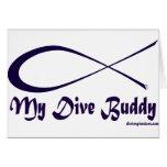 My Dive Buddy Greeting Card